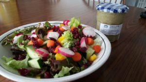 salade avec radis